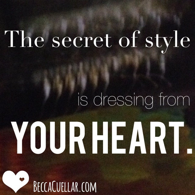 Be Cool:  Learn to Create Style