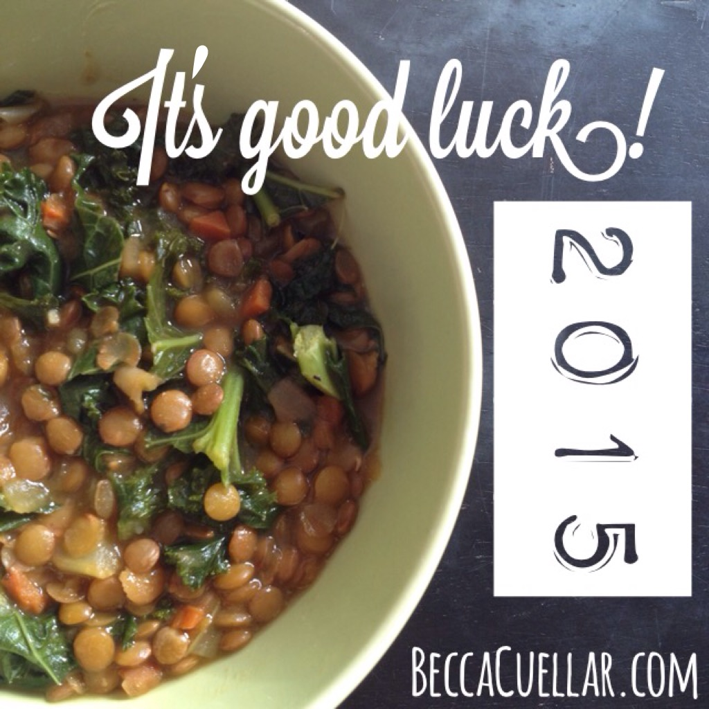 Lentil Soup Is Good Luck For New Year Becca Cuellar