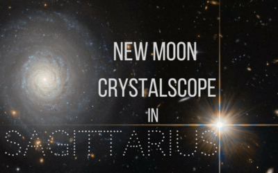 New Moon in Sagittarius Crystal Reading