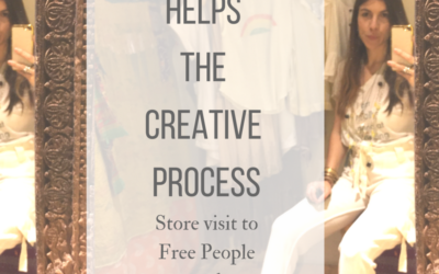 Shopping Helps the Creative Process