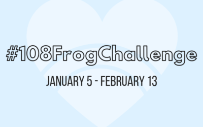 JAN 2018: 108 Frog Challenge